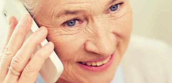 Hilfsmittel zur Kommunikation: Seniorentelefon