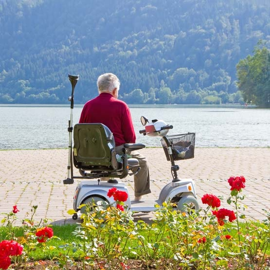 Elektromobil als Mobilitätshilfe