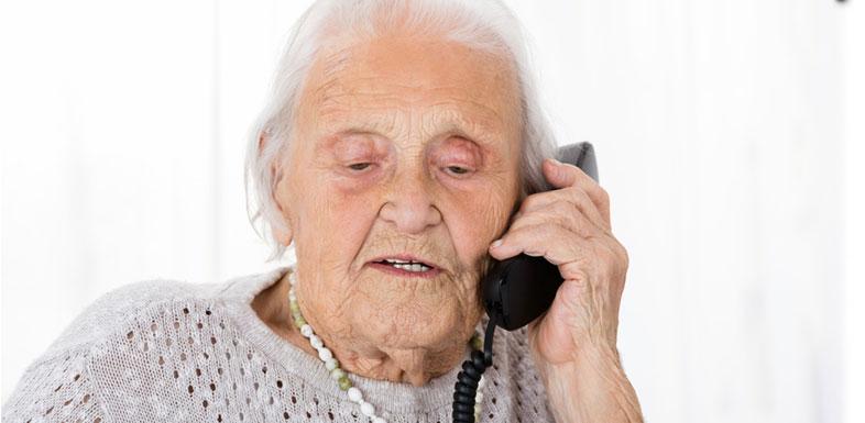 Hilfsmittel zur Kommunikation: Wählhilfe für Senioren