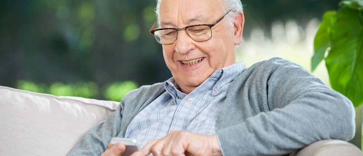 Hilfsmittel für die Kommunikation von Senioren